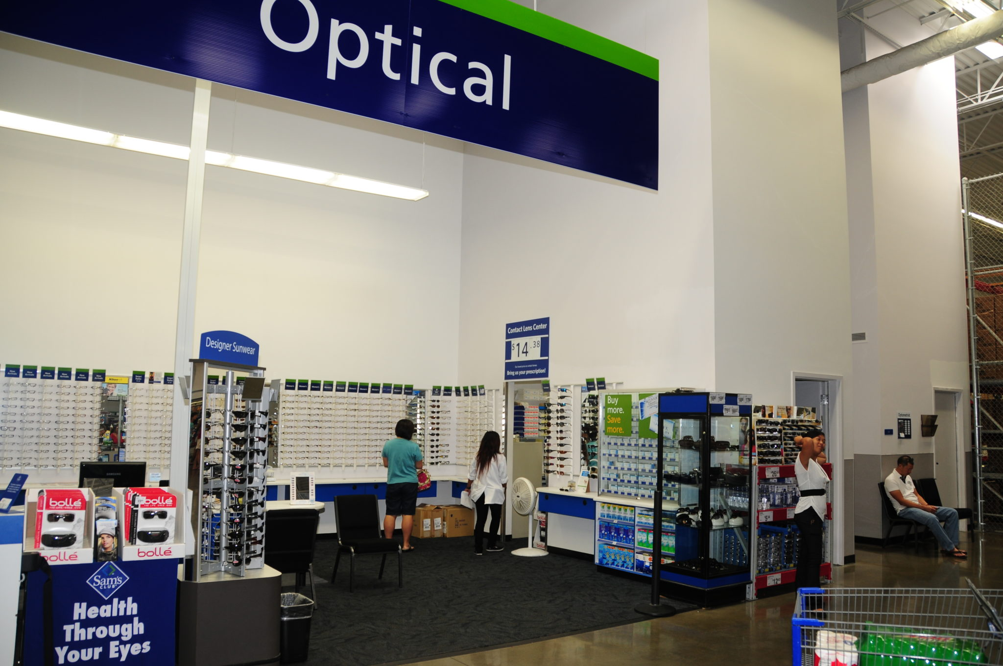 Eye Exam Costs at Sam's Club