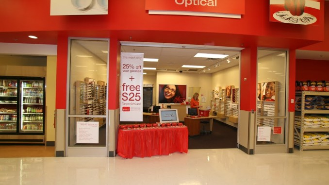 Eye Exam Costs at Target