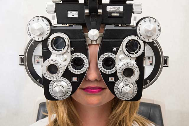 Eye exam costs